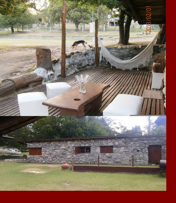 Alq. Cabaña De Piedra A $500 X Dìa A Orillas Del Rìo Punilla