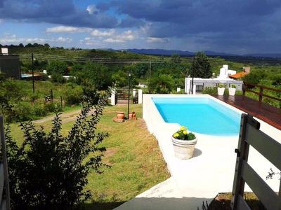 Casa Con Pileta En Cabalango, A 5 Km De Villa Carlos Paz