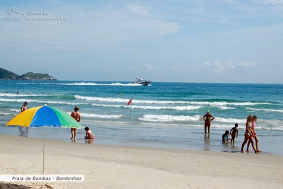 Bombinhas Depto. Frente Playa - Wifi - Cochera Cerrada