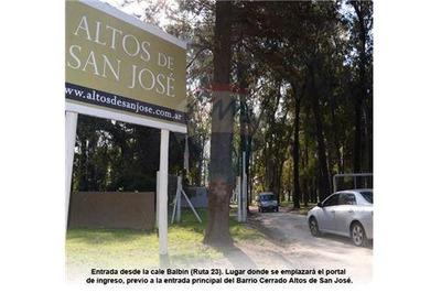 Lote Barrio Privado Altos De San Jose, San Miguel
