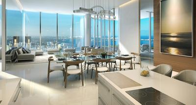 Departamento En Venta Paramount Miami 3 Dor + Den + 4 Baños