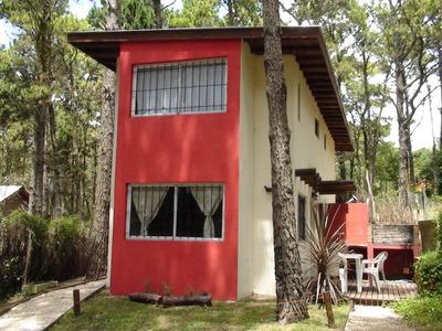 Casa Cabaña Alquiler En Mar Azul -2015 - En Pleno Bosque -