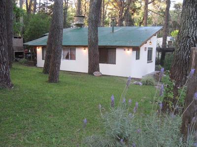 Casa Con Amplio Jardín, 3 Amb.parrilla. Ocupada Todo Enero Y