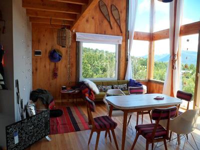 Casa De Montaña Moderna Panorámica A 10 Minutos Del Centro