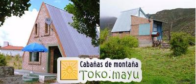 Cabaña Casas En Potrerillos Para 2, 6 8 Y 10 Personas