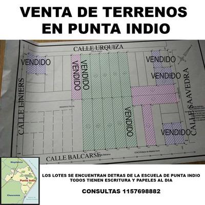 Lotes En Venta Punta Indio