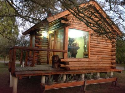 Cabaña De Troncos Tunkelen Punta Indio