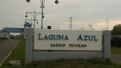 Lote Barrio Cerrado Laguna Azul 308 Mt Dueña Para Escriturar