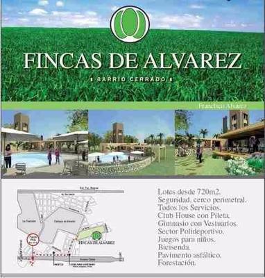Terreno Fincas De Alvarez Dueño Directo La Mejor Ubicacion