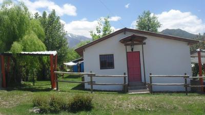 Complejo De 3 Cabañas En Valle Del Sol, Potrerillos Mendoza