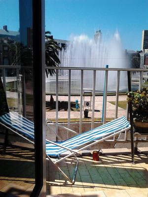 Mar Del Plata 1 Ambiente Cochera, Frente Al Casino, Balcón
