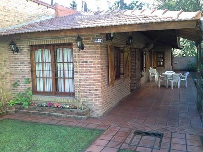 Excelente Casa En Pinamar Para 5 (cinco) Personas