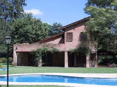 Hermos Casa Quinta *la Chaumiere De Alejandro En Tortuguitas