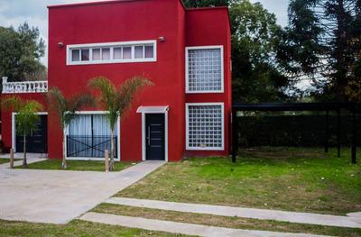 Alquiler Quinta En Barrio Cerrado Bosque Real Por Quincena