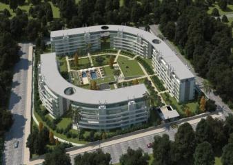 Departamento En Alquiler De 1 Ambientes En Condominio Civis