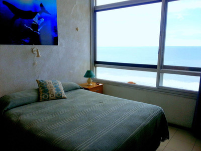 Miramar Alquiler Departamento Edificio Playa Club. Vista Mar