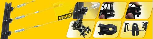 aisladores  doble pin lock usado en seguriad perimetral