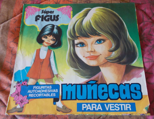 álbum de figuritas  muñecas para vestir