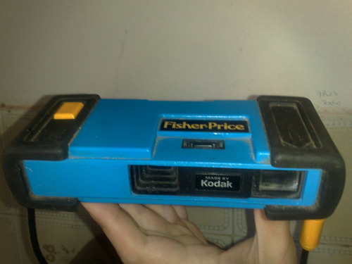 antigua camara de fotos de juguete - marca fisher price