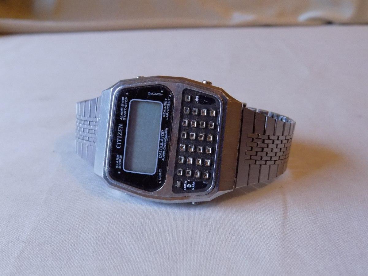 Reloj Citizen Con Calculadora