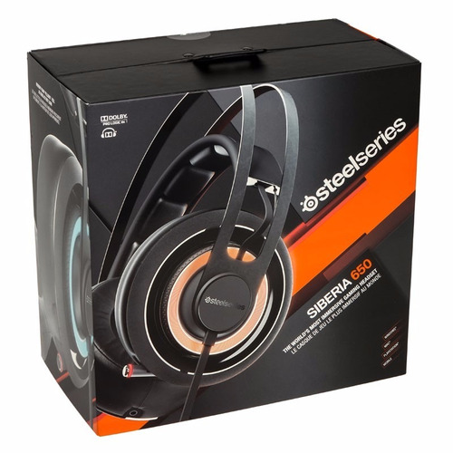 auriculares gamer steelseries siberia 650 negro prism elite