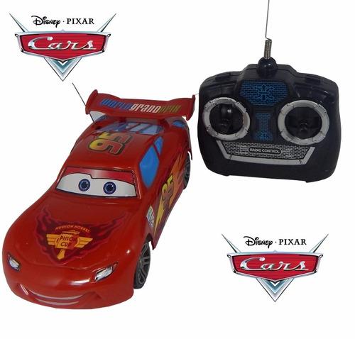 auto cars rayo mc queen piston cup radio control full envío