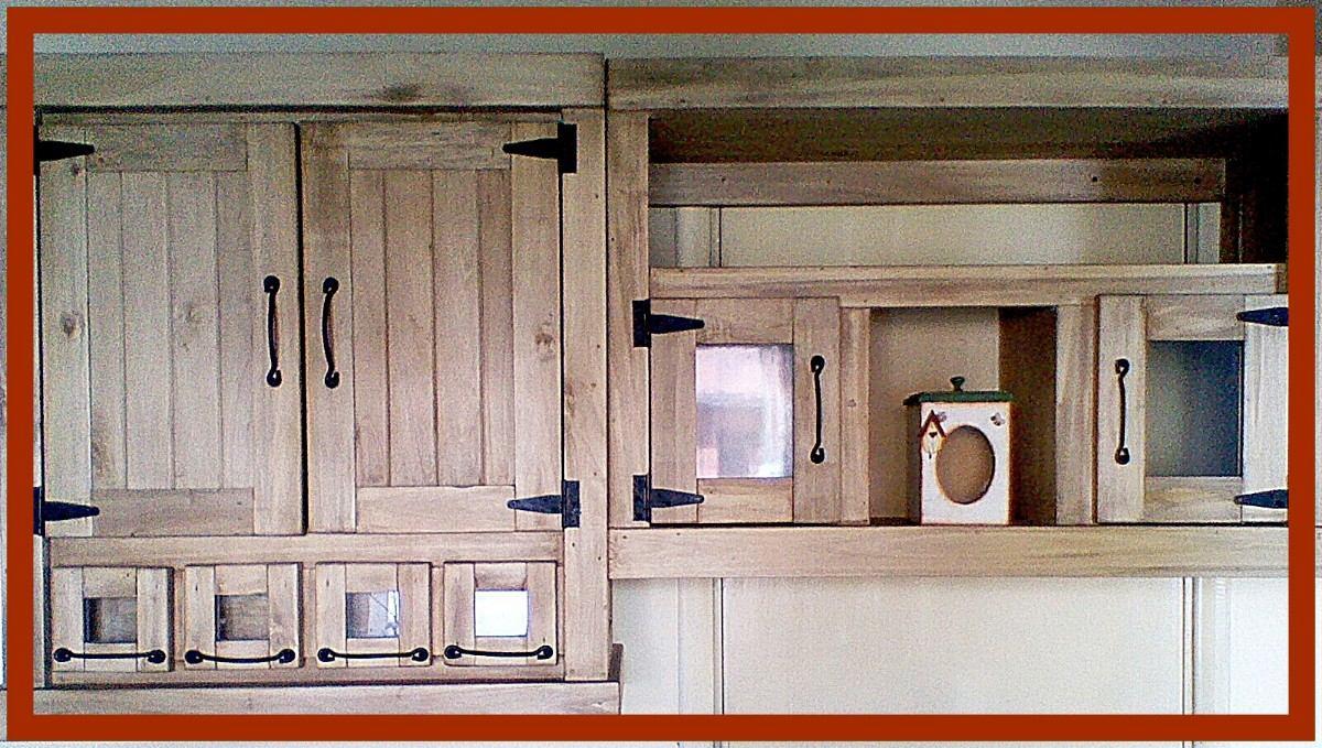 muebles de cocina estilo campo blanco mesada y alacena rusticos estilo campo