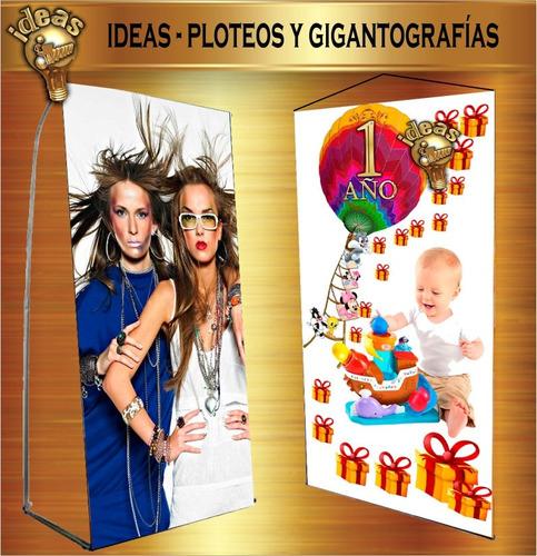 banner impreso 190x90cm fullcolor portabanners ideas ploteos