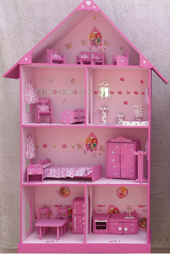 barbie, muebles muñecas,