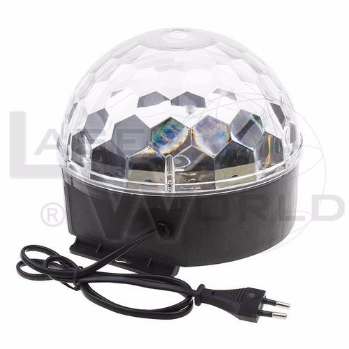 bola led full color audiorítmico, luces audiorítmicas, luz