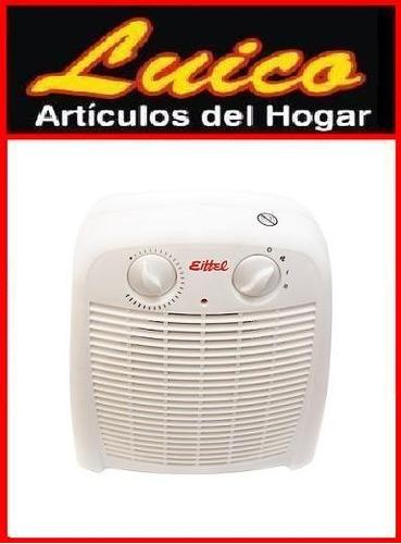caloventor calefactor 2000w - local a la calle - garantia