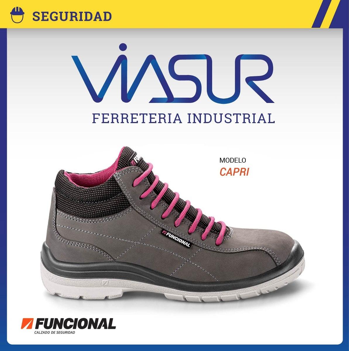 Zapatos de seguridad funcional mujer - Zapatos de seguridad baratos ...