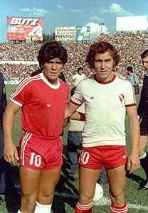¿Cuánto mide Diego Armando Maradona? - Altura - Real height Camiseta-independiente-1978-suplente-blanca-bochini-853801-MLA20413616343_092015-O