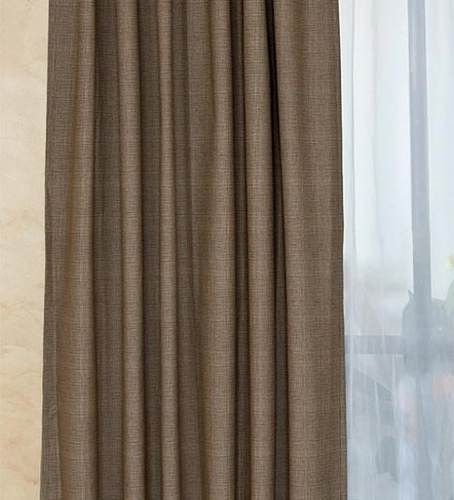 cortina black out 50% algodon 50% polyester 100% lavable