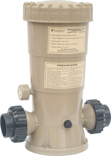 Dosificador de cloro vulcano para piletas de nataci n for Piletas de natacion para espacios reducidos