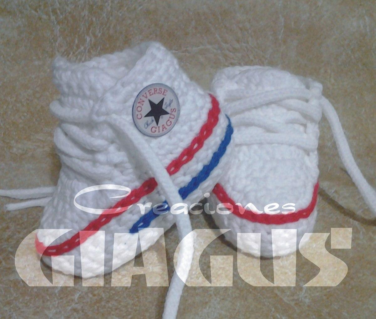 Converse Bébé En Crochet