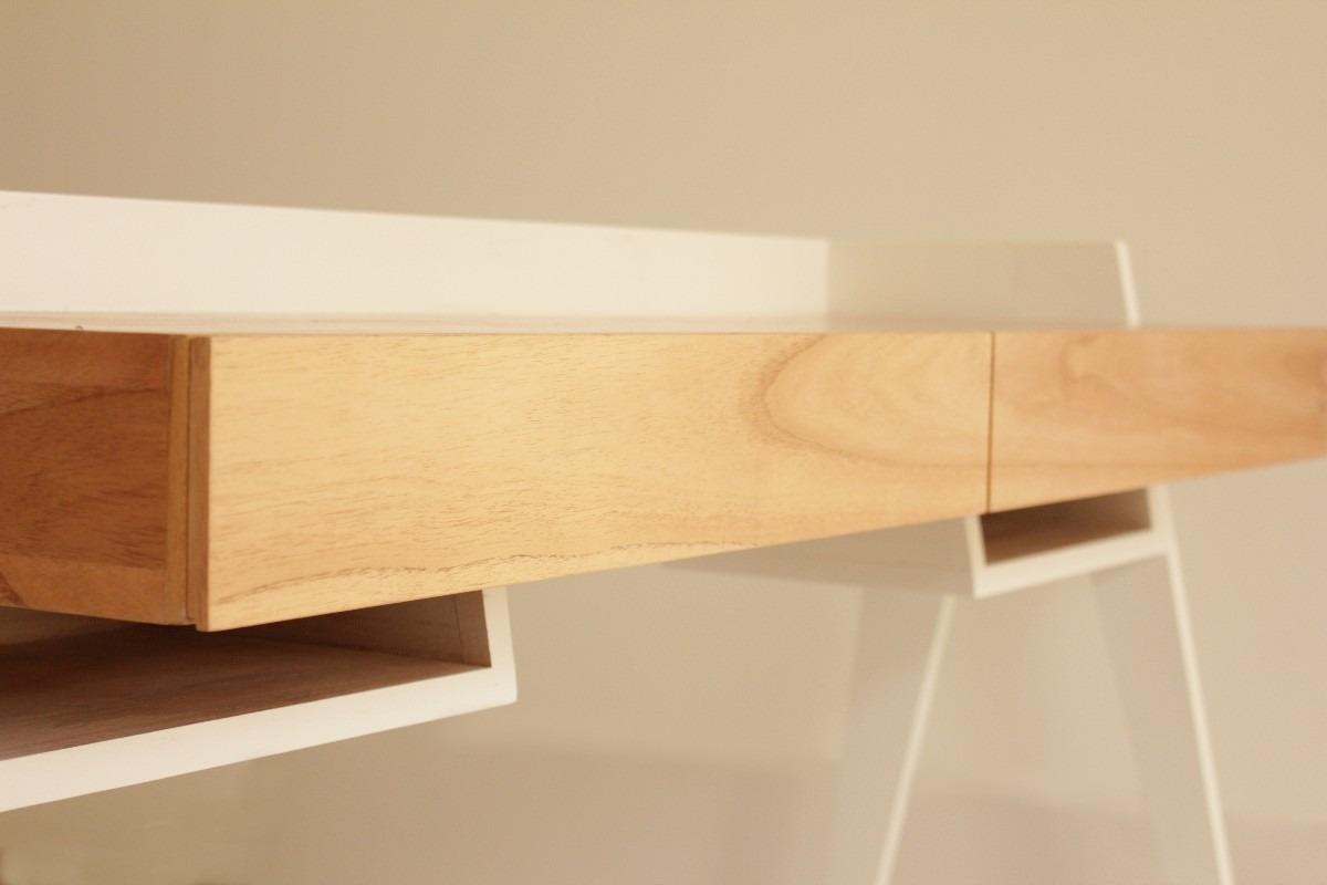 Muebles madera paraiso for Muebles escritorio diseno
