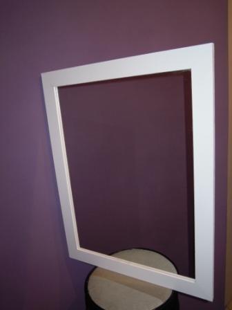 espejo marco madera deco
