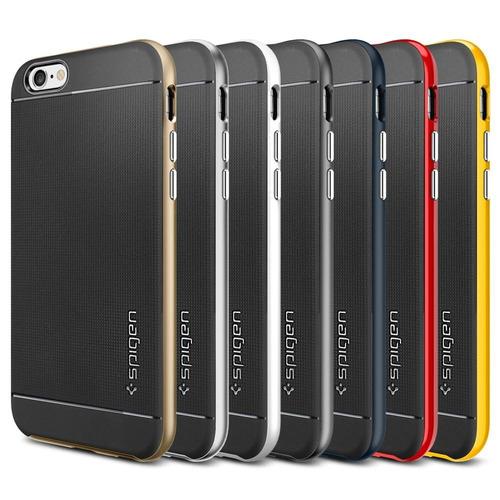 funda protector iphone 6 6 plus sgp spidgen neo hybrid +film