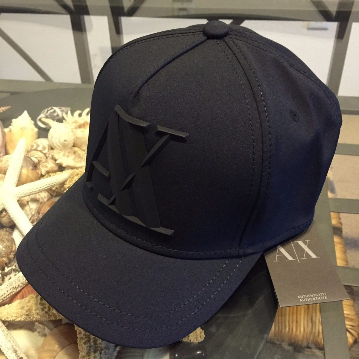 gorra armani exchange black baseball bajo pedidoexkarg 304801  MLA20408500292 092015 F square false 51a09183819