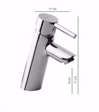 grifería lavatorio baño monocomando