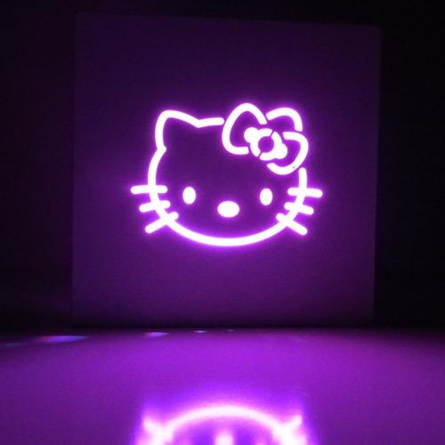 luz de noche velador de led lámpara luz de colores - laito
