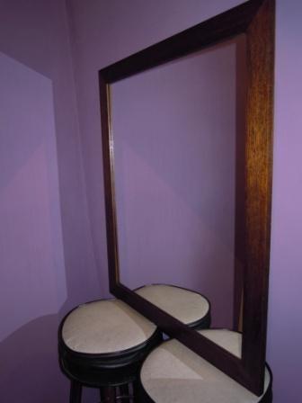 madera deco espejo marco