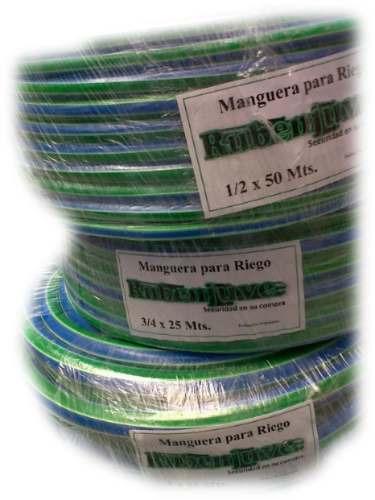 manguera de riego 1/2 50 mts reforzada - precios mayoristas