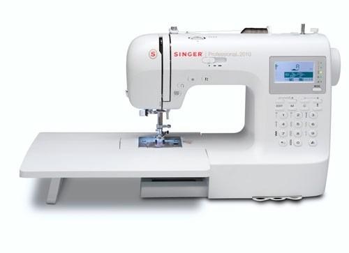 maquina de coser singer profesional mod. 2010+ curso gratis