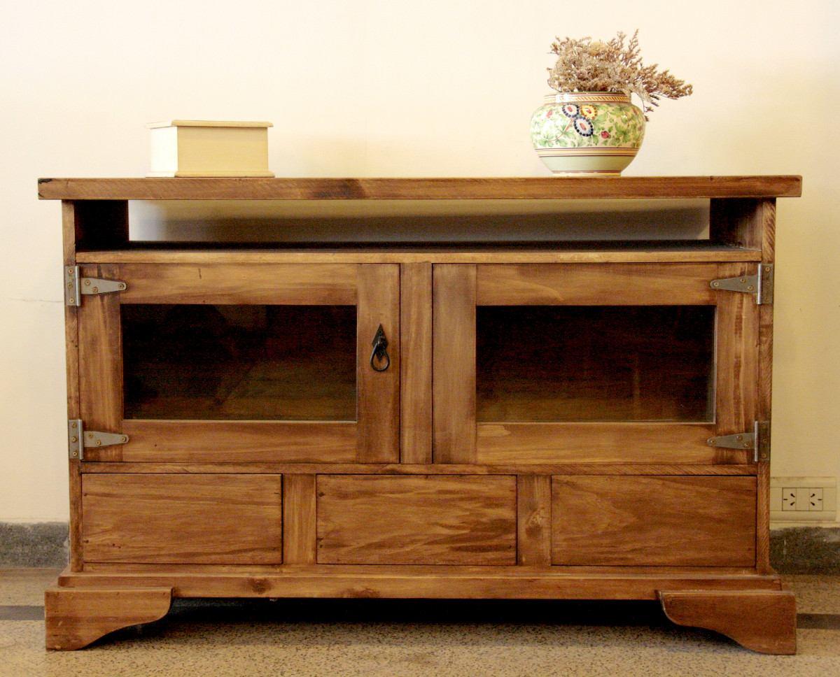 Kesssel 460 474 muebles para tv pinterest - Muebles estilo rustico ...