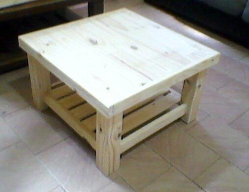 mesa ratona de pino