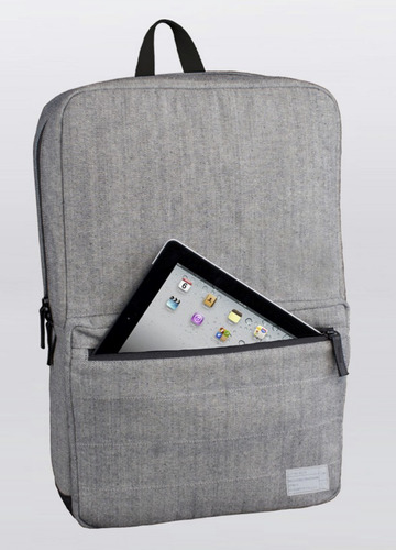 mochila hex p/ notebook macbook hasta 15  liviana premium