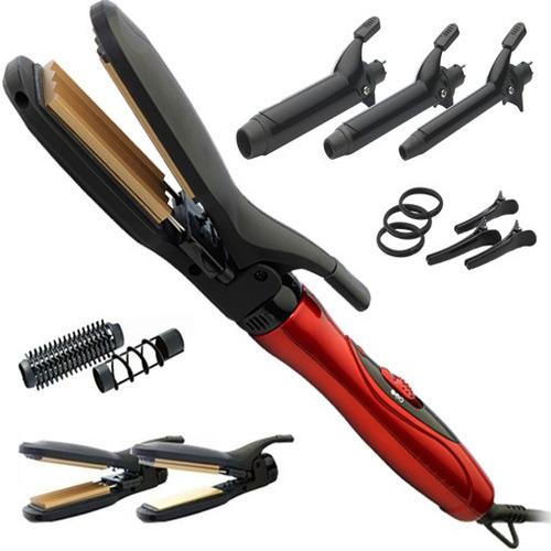 modelador gama - ionic secador rizador brushing + accesorios