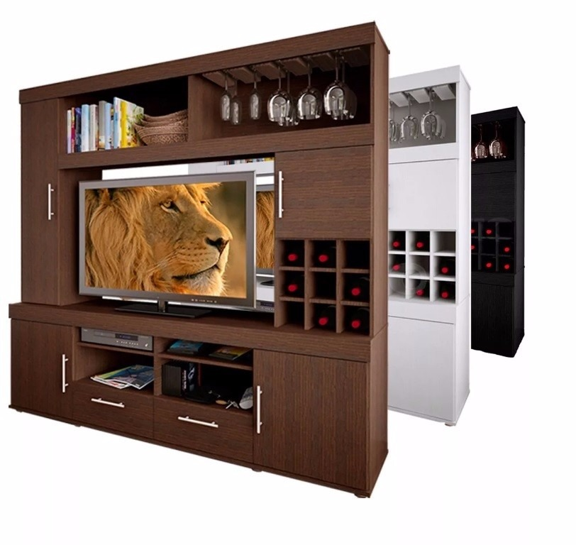 Muebles para tv plana ideas geniales para tu televisin - Muebles para tv plana ...